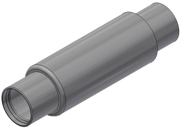 Axialkompensator für Haustechnik - AB 80/16/a 36/R/R - Einbaulänge = 240mm
