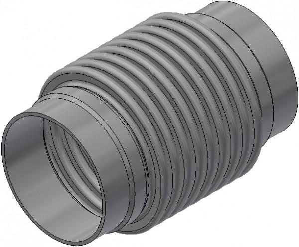 Universalkompensator - UN 100/16/a 48/R/R - Nennlänge = 235mm